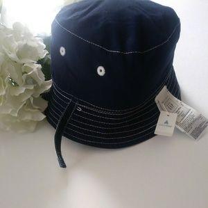 Baby boy bucket hat reversible